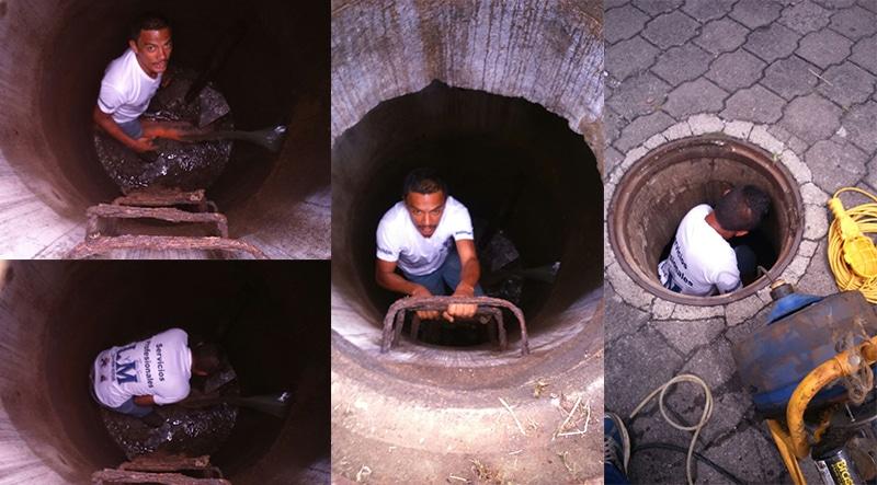 Destaqueo de tuberías de aguas negras - 2